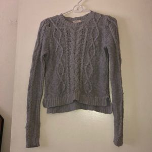 Forever wow Girls Gray Sweater